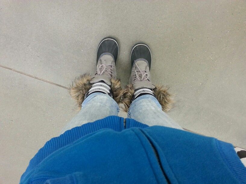 Cute snow shoes