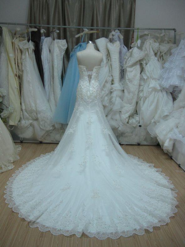 Emma Maggie Sottero Jasmine Replica mid production photo | Wedding ...