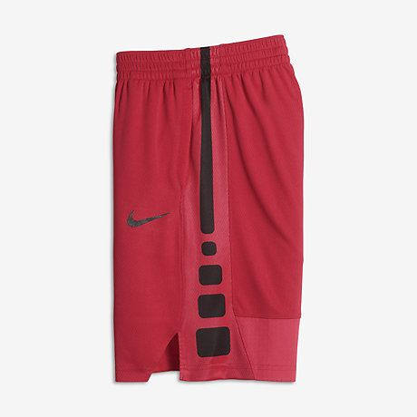 Nike Dry Elite Big Kids' Basketball Shorts Orange/Black