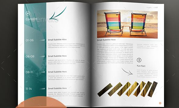 10 Excellent Booklet Design Templates for Flourishing Business - booklet template free download