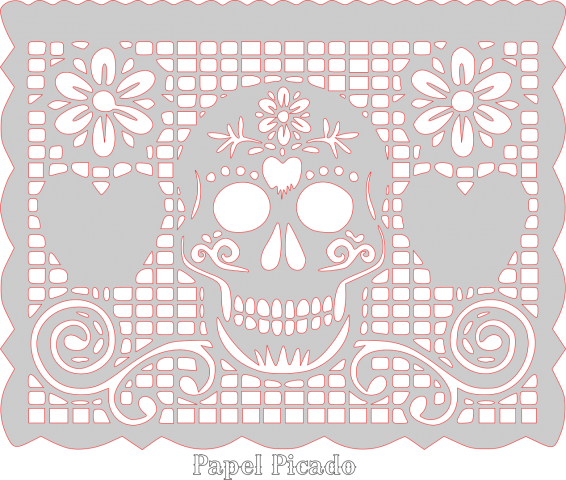 Papel Picado Design New Patterns User Gallery Papel Picado Day Of The Dead Papel Picado Banner