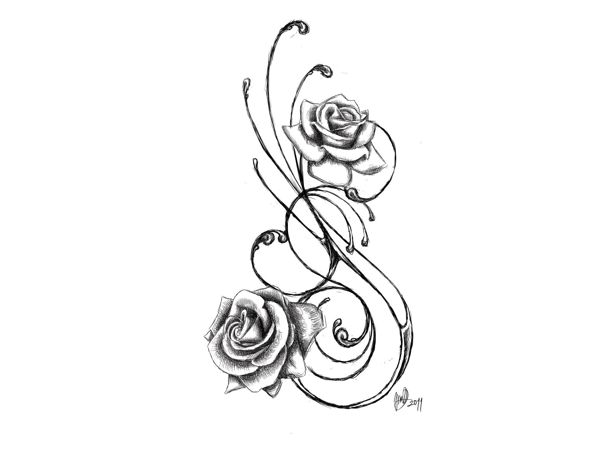 Rose Tattoo Designs For Girls Smaller Tribal Tattoo Designs | Rose tattoo design, Rose tattoos ...