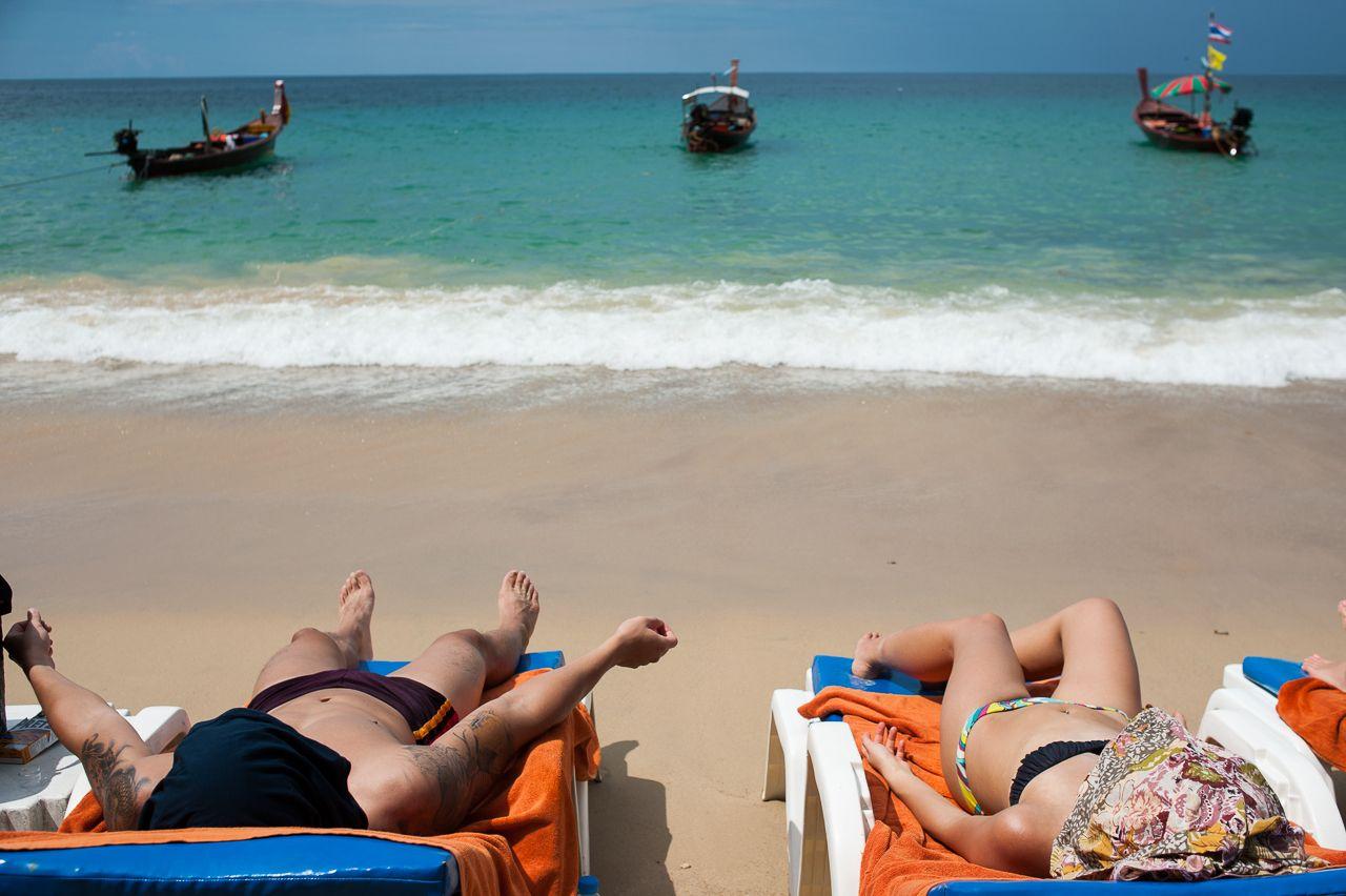 Boobs Nude Beaches In Phuket Thailand HD