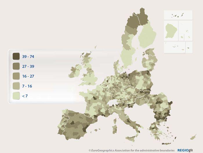 % d'àrees protegides incloses a la Xarxa Natura 2000