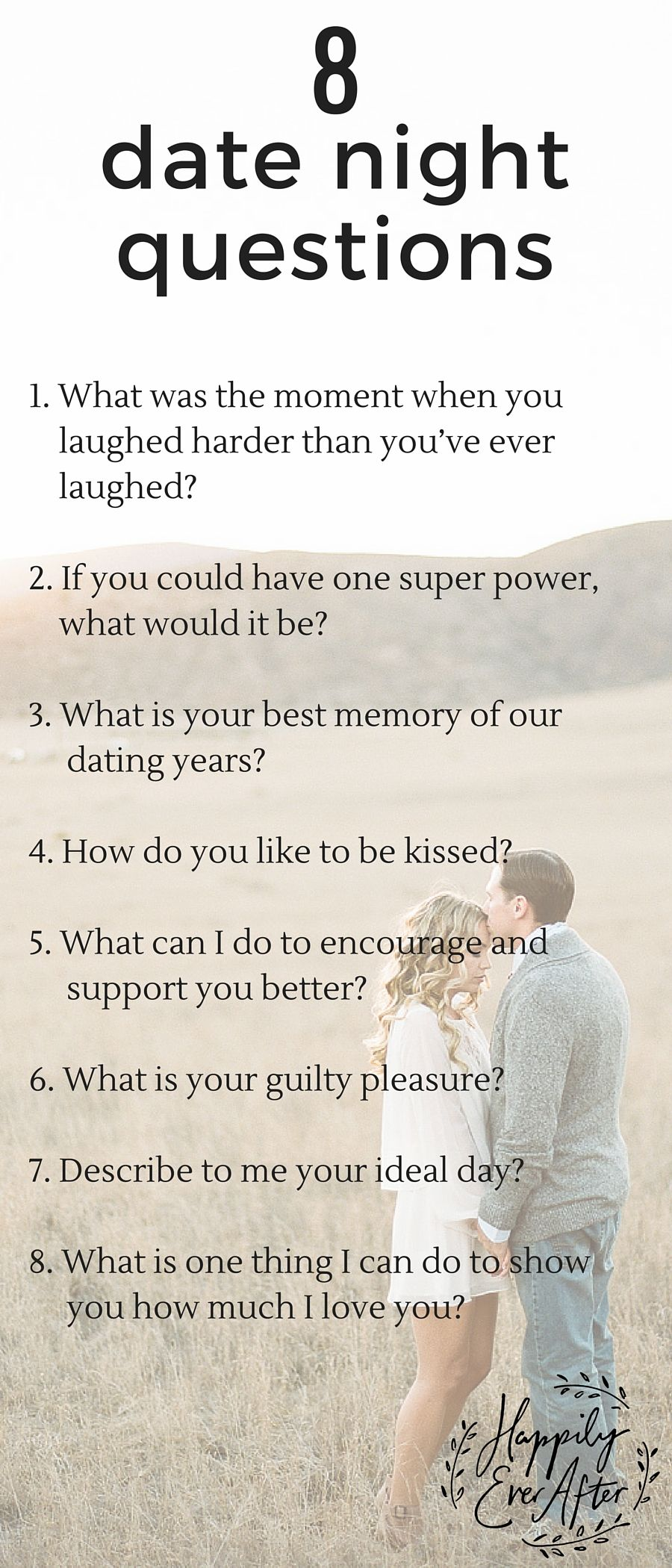 Good questions to ask on a date