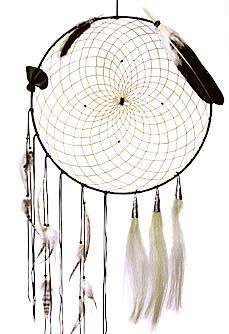Eagle Feather Dream Catcher Power of Dreams Large Dream Catcher Detailed with distressed 27