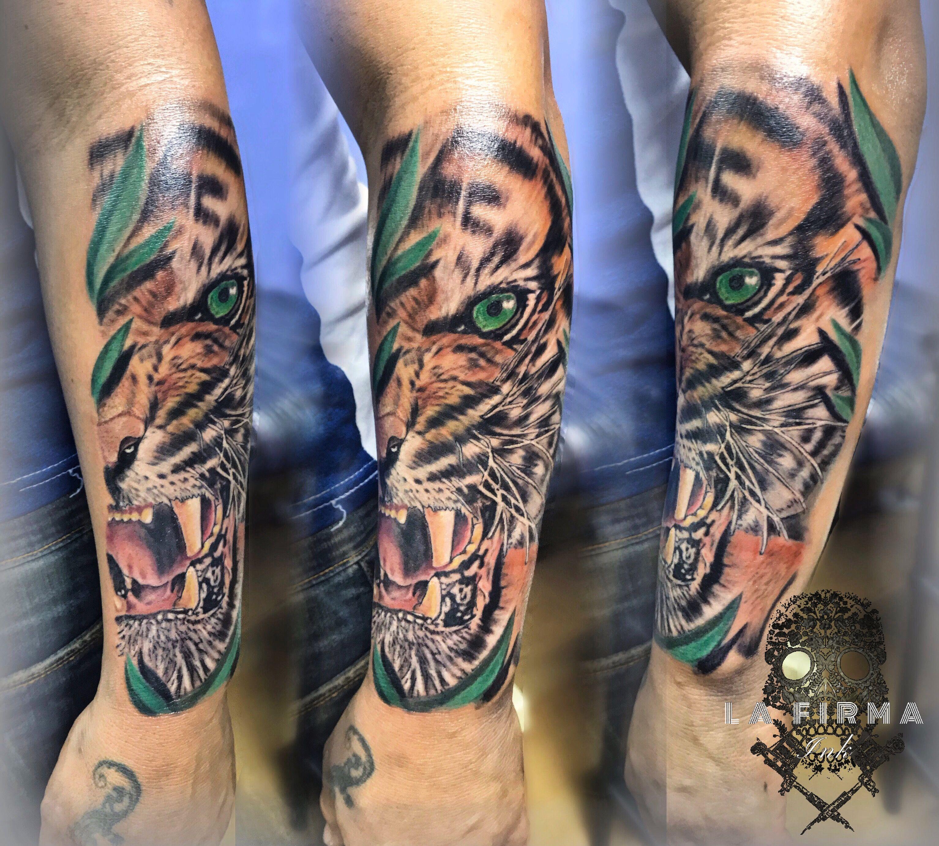 Tigre tattoo fullcolor Tattoos