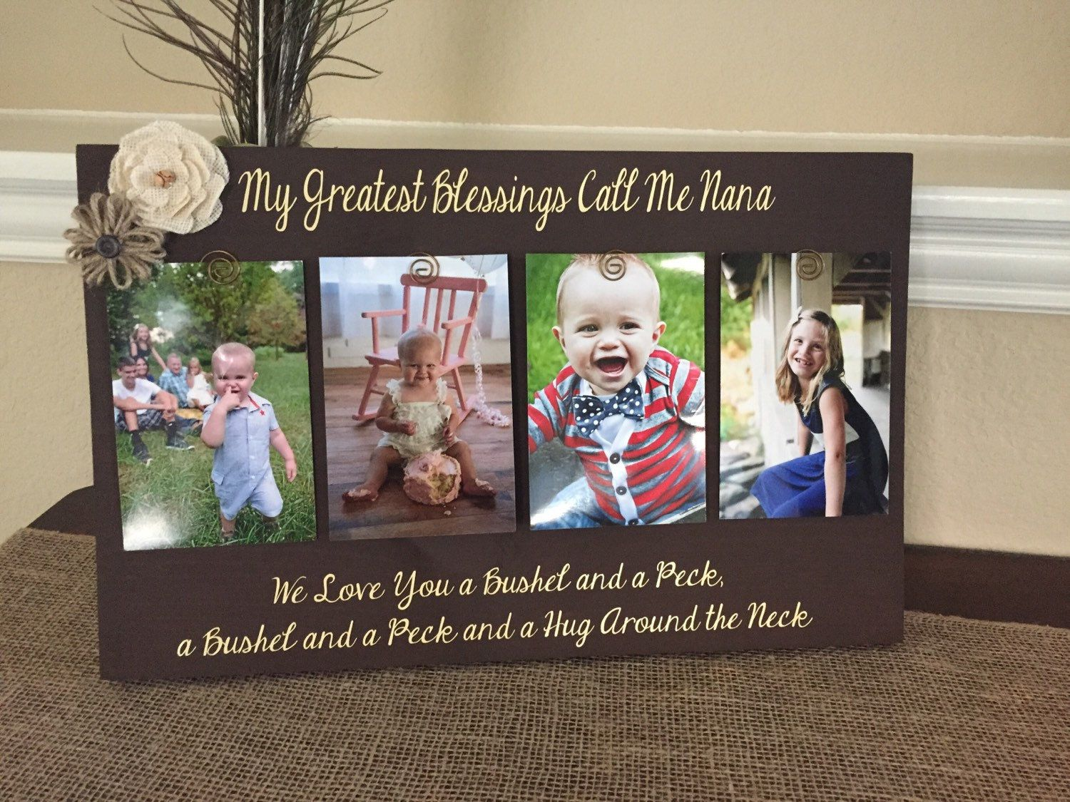 my greatest blessings call me grandma personalized frame grammie ...