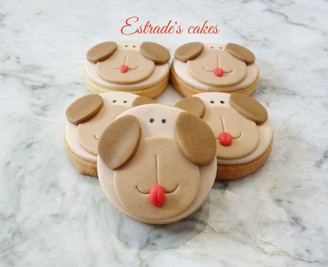Estrade¡s cakes: galletas infantiles de perros