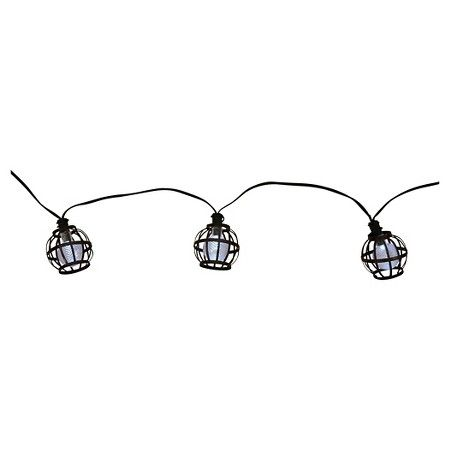 Target Solar String Lights Solar Metal Globe String Lights 20Ct  Threshold™  Target  Gifts
