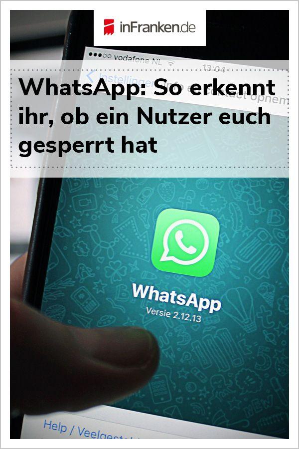 WhatsApp-Blockierung: So erkennt ihr, ob ein Nutzer euch