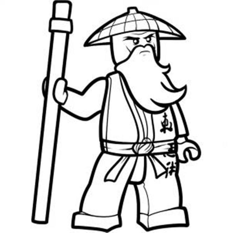 Read Moreninjago Coloring Pages Sensei Wu Ninjago Coloring Pages