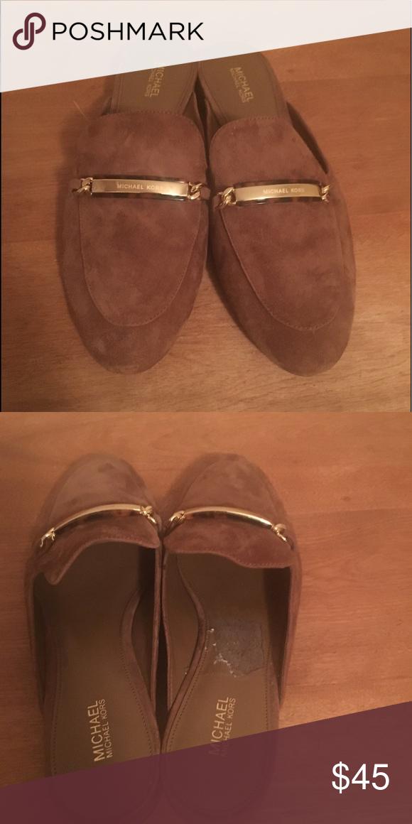 da5b996d02771 Michael Kors Mules Michael Kors Mules Brown Suede Size 8 never worn. MICHAEL  Michael Kors Shoes Mules   Clogs