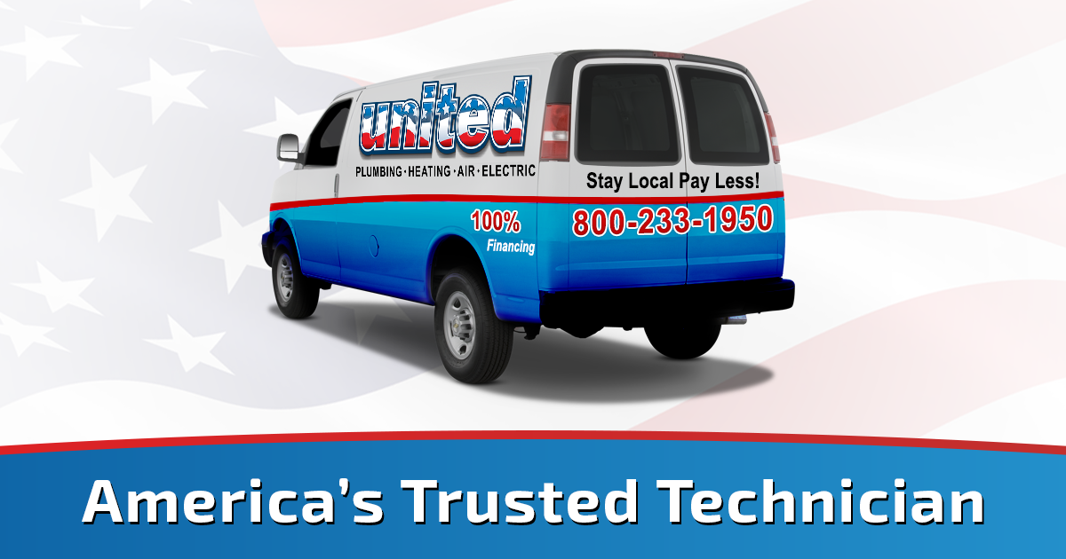 Call United Plumbing Heating Air & Electric today for