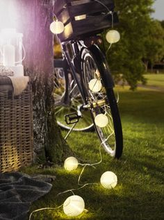 ikea exterior lighting. KILOMETER Ikea Lighting Chain W 24 Bulbs, Outdoor, White, Multicolour Exterior G