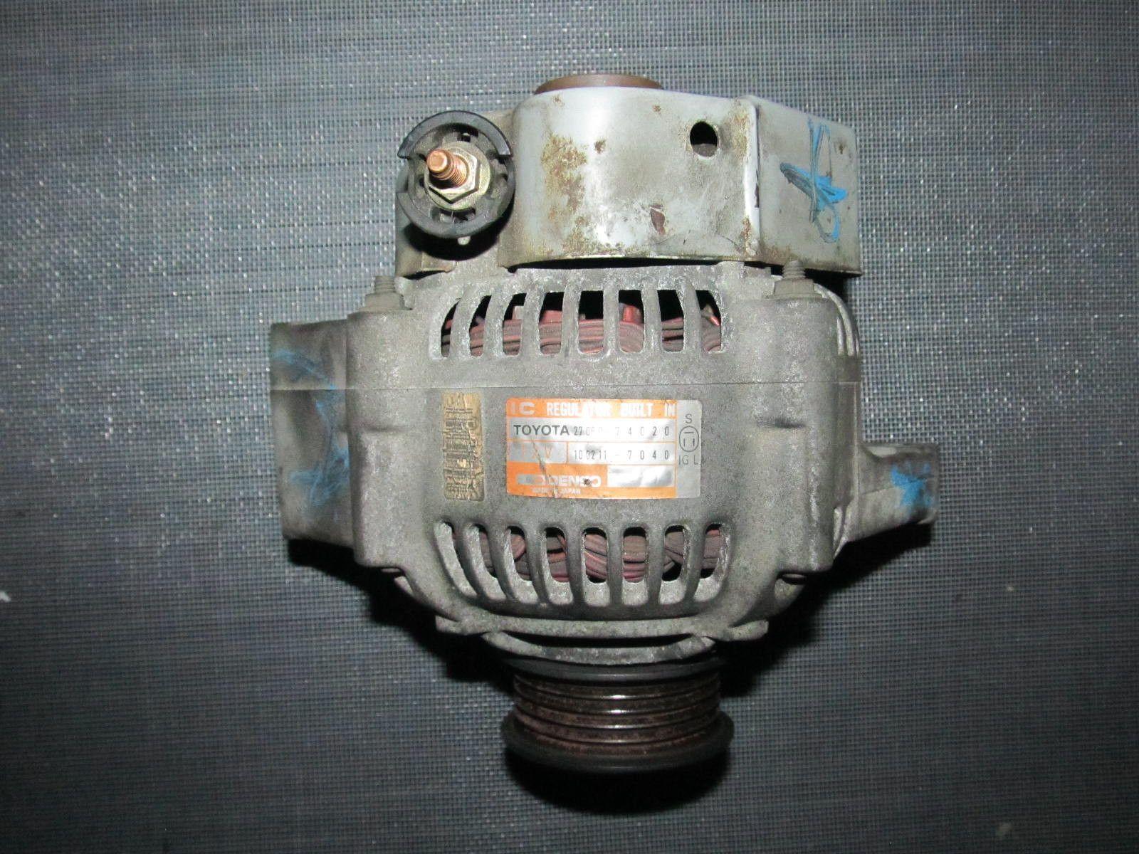 89-92 Toyota Supra None Turbo OEM Alternator