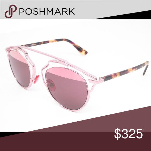36d466bcc258 Authentic Dior So Real KM98R Light Pink Sunglasses Used condition. Comes  with box (used condition, has marks). Scratches on lens (see photos).
