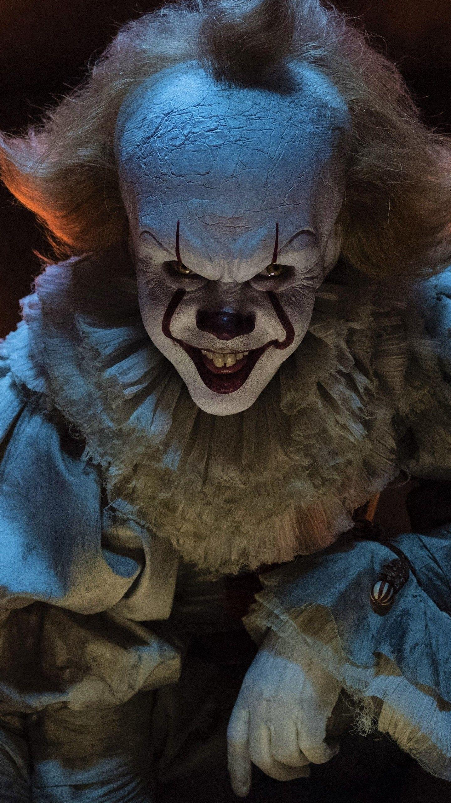 1440x2560 Wallpaper 694690 | Clown horror, Horror movie characters, Horror  movie icons