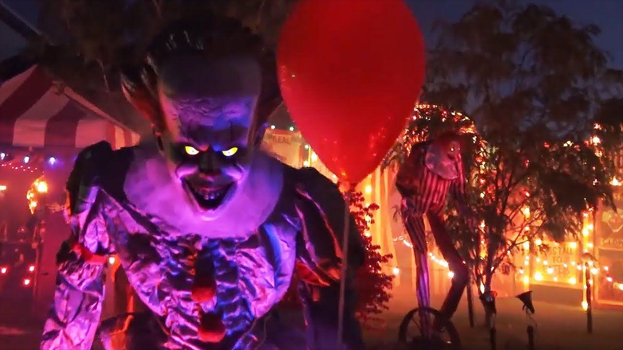 Creepy Clown Halloween Yard Haunt *Part 2* Spirit