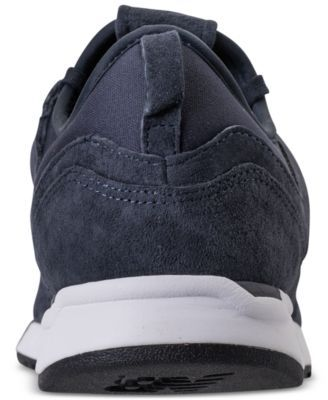 best deals on 7b2a9 36eef New Balance Men s 247 Suede Casual Sneakers from Finish Line - NAVY WHITE  11.5