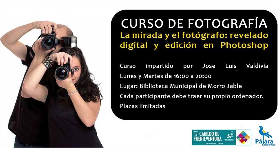 Curso de fotografía: Revelado digital y edición en Photoshop #gratis en #Fuerteventura  Ayuntamiento de Pájara. Para más información acudir a la oficina de la Concejalía de Cultura situada en la Casa de la Juventud de Morro Jable.