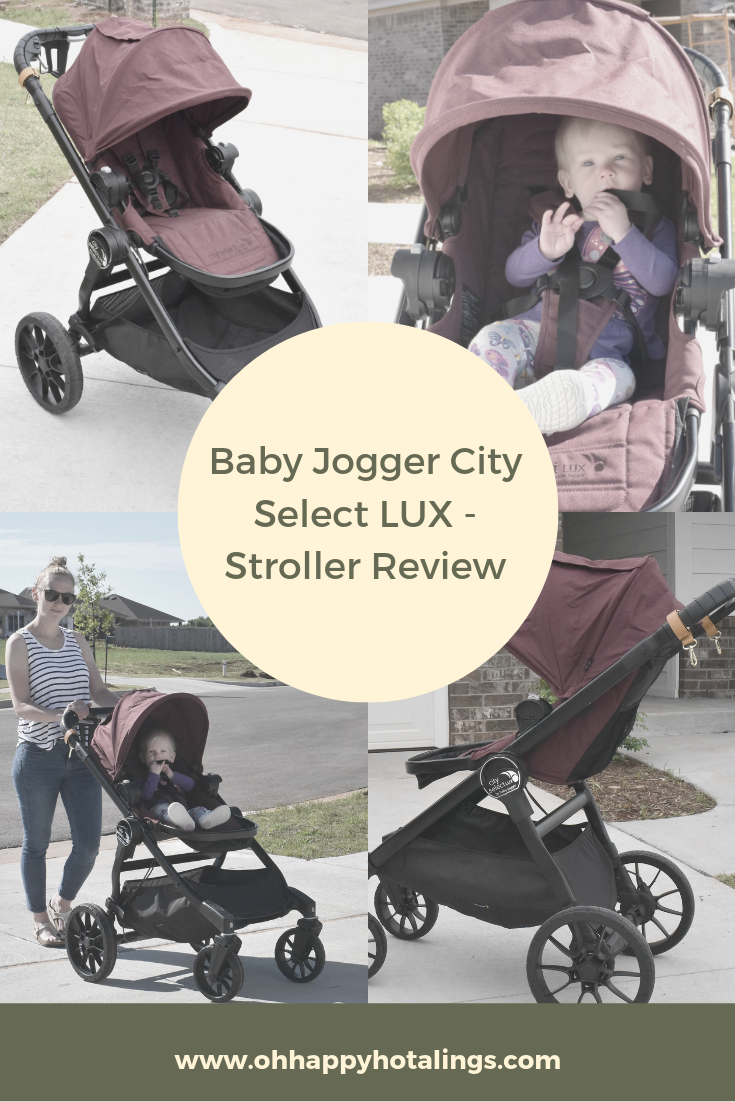 Sharing My Full Review Of The Baby Jogger City Select Lux Stroller