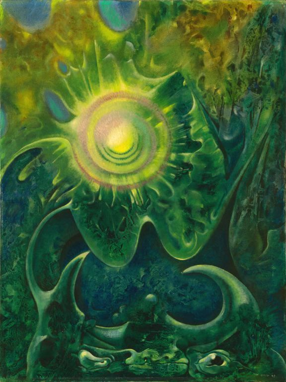 Max Ernst  French, born Germany, 1891–1976  Halleluiah, 1948  Art Institute Chicago