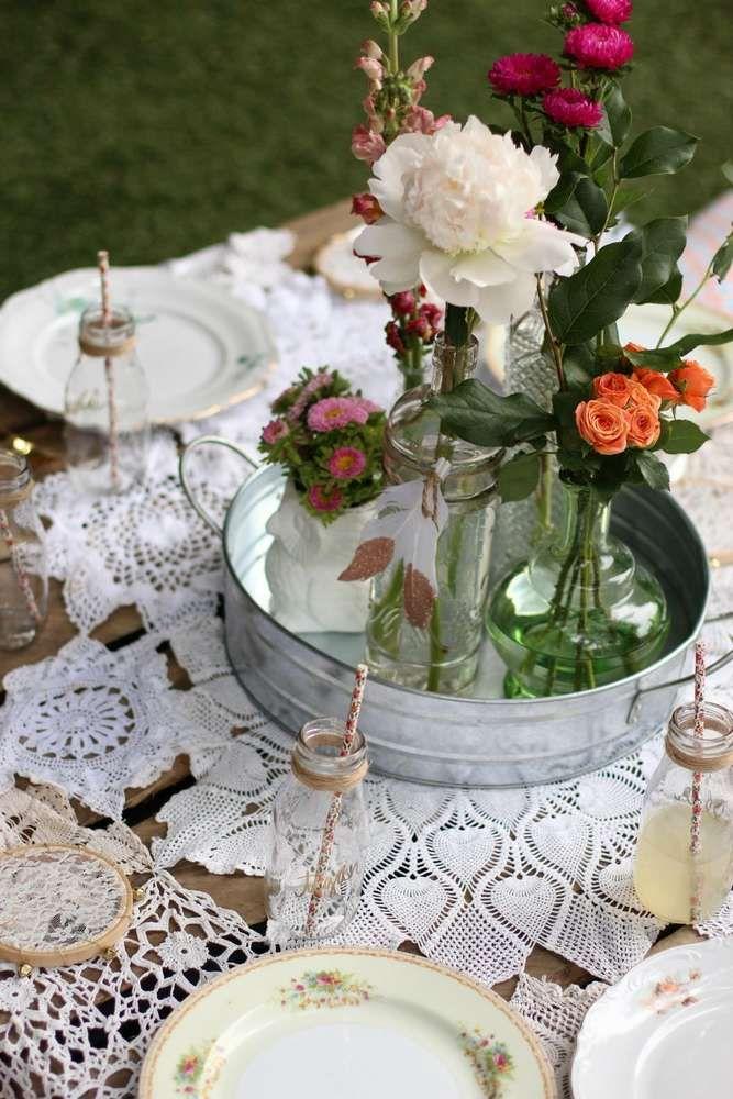 Boho Garden Party Birthday Party Ideas Photo 1 Of 20
