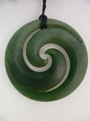 Koru pounamu my son just got his first koru pendant and its a koru pounamu my son just got his first koru pendant and its a really nice mozeypictures Choice Image