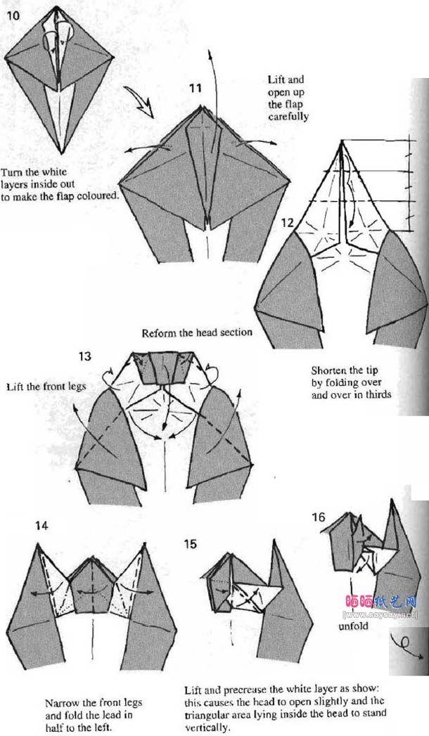 Origami Squirrel 4 Pinterest Origami Squirrel And Diagram