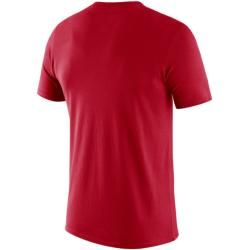 Toronto Raptors Logo Nike Dri-fit Nba-t-shirt für Herren - Rot Nike #shortsleevetee