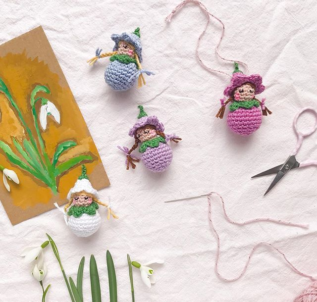 Photo of A crochet pattern for sugar-sweet blossom children