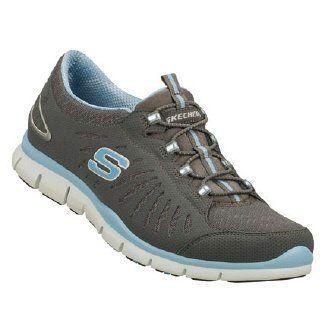 women's skechers gratisin motion sneakers  charcoal/lt