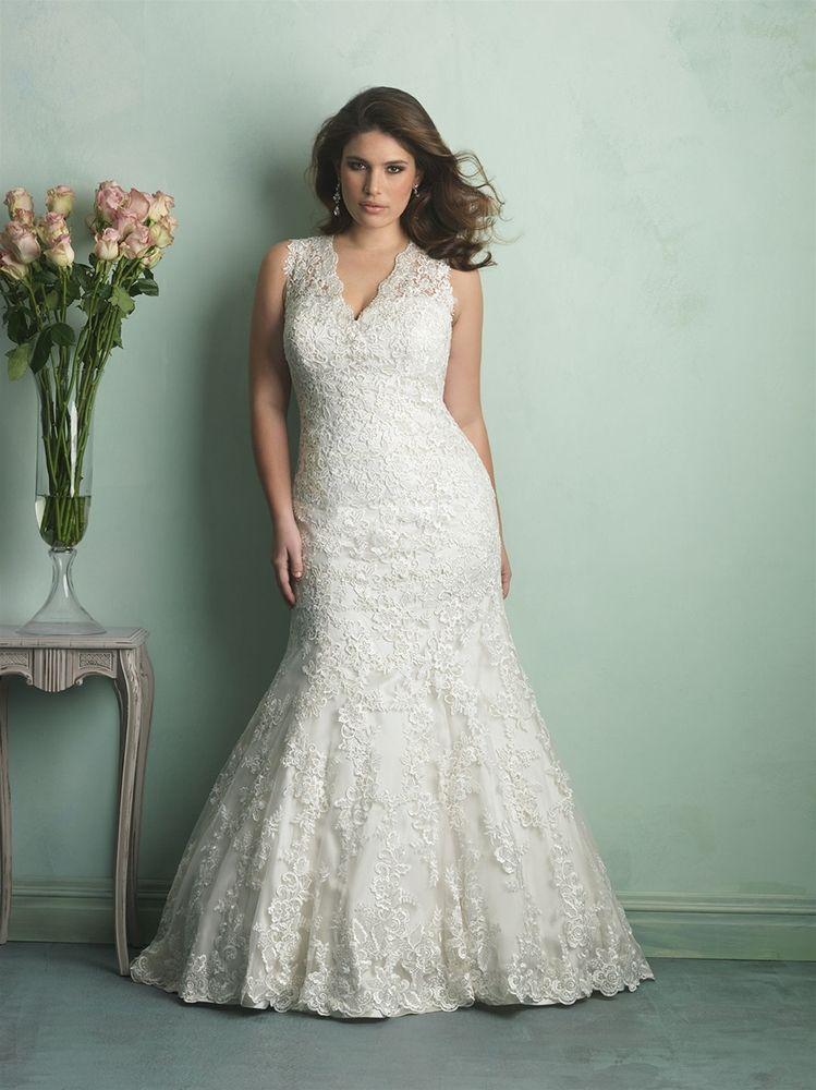Gorgeous Wedding Dresses For Plus Size Brides Plus Size Wedding Gowns Womens Wedding Dresses Plus Size Bridal Dresses