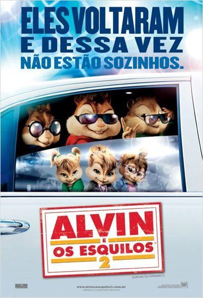 Alvin E Os Esquilos 2 Poster Alvin E Os Esquilos Alvin E Os