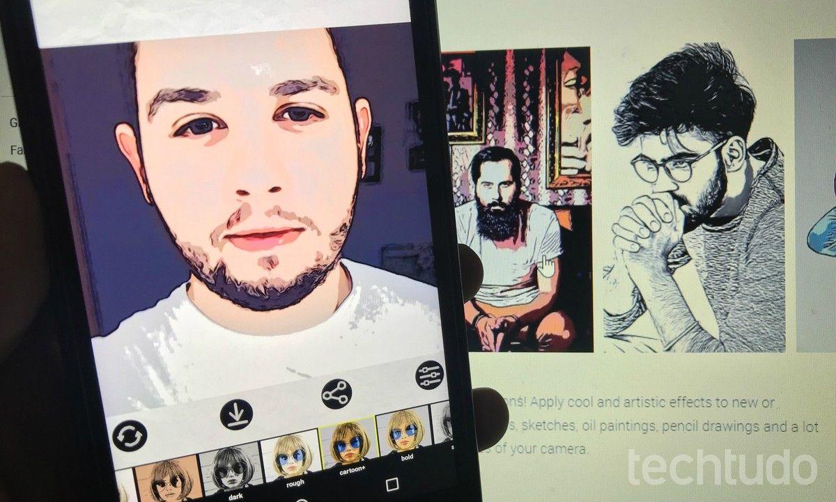 Como Transformar Sua Foto Em Desenho Com App Gratis Cartoon Photo