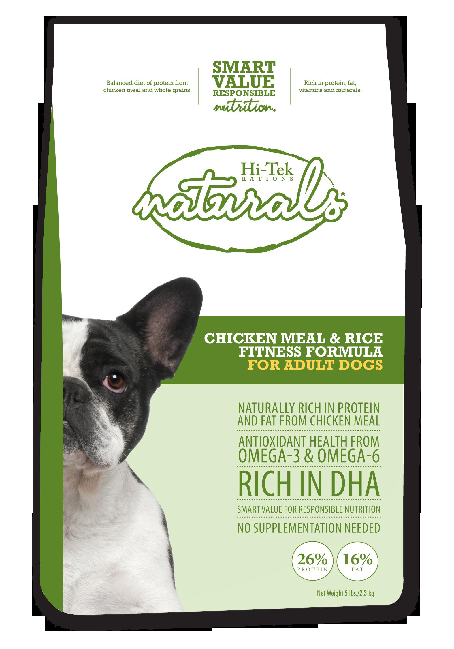HiTek Naturals Chicken Meal & Rice