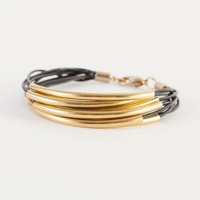 Layered Leather Bracelet Kit