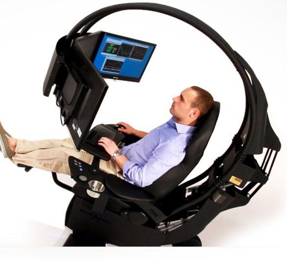 Emperor 1510 Gaming Chair Workstation Computer Workstation