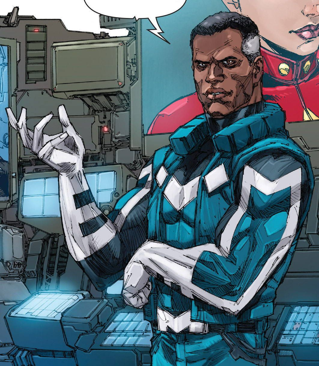 Ultimates 2 (2015) // Marvel ComicsBlue Marvel (Adam
