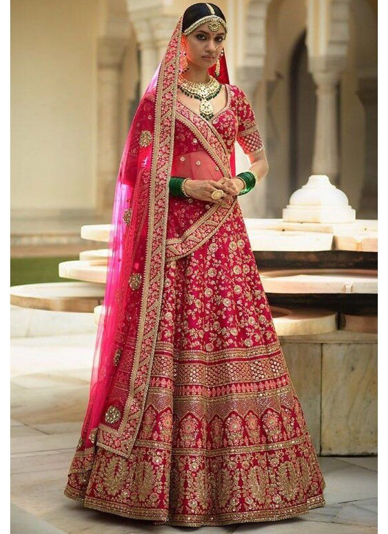 dc97401d6b Exclusive Heavy Designer Beautiful Pink Color Bridal Lehenga Choli At  Stylizone.com I bought a dress here and the dress was Great!!!
