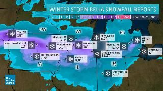 National And Local Weather Forecast Hurricane Radar And Report Chicago Snow The Weather Channel Winter Storm