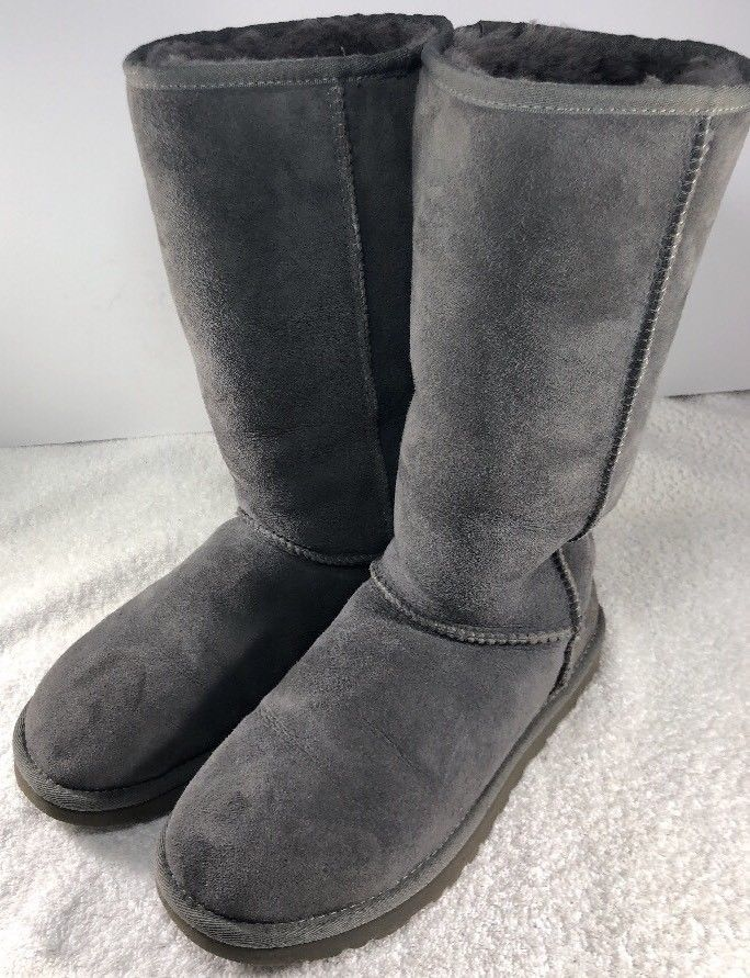 UGG Australia Femme Taille 8 Classic Tall Classic 5815 Taille Daim 8 Gris 64d88b9 - christopherbooneavalere.website