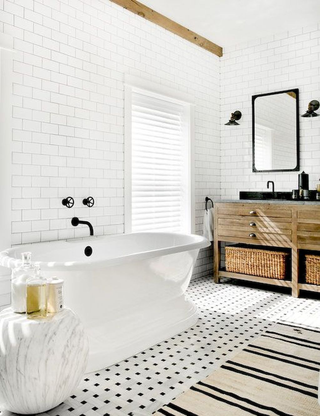 60 Scandinavian Bathroom Design Ideas To Inspire You | Scandinavian ...