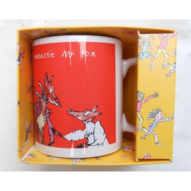 Roald From Printed Handmade Characters Durham MugFeaturing Dahl's ZuXOPkiT