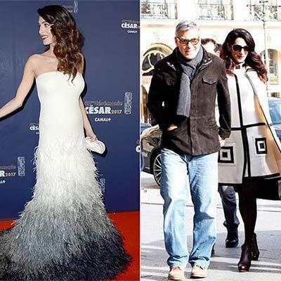 Amal Clooney: Her subtle pregnancy wardrobe