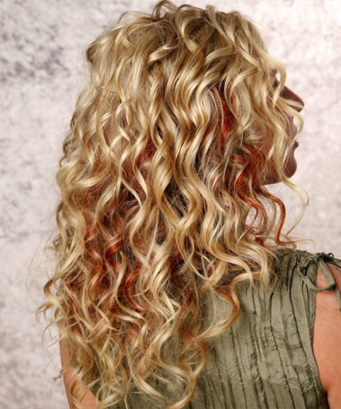 19 Party Hairstyles For Long Hair | Medium hair hairstyles, Perms ...