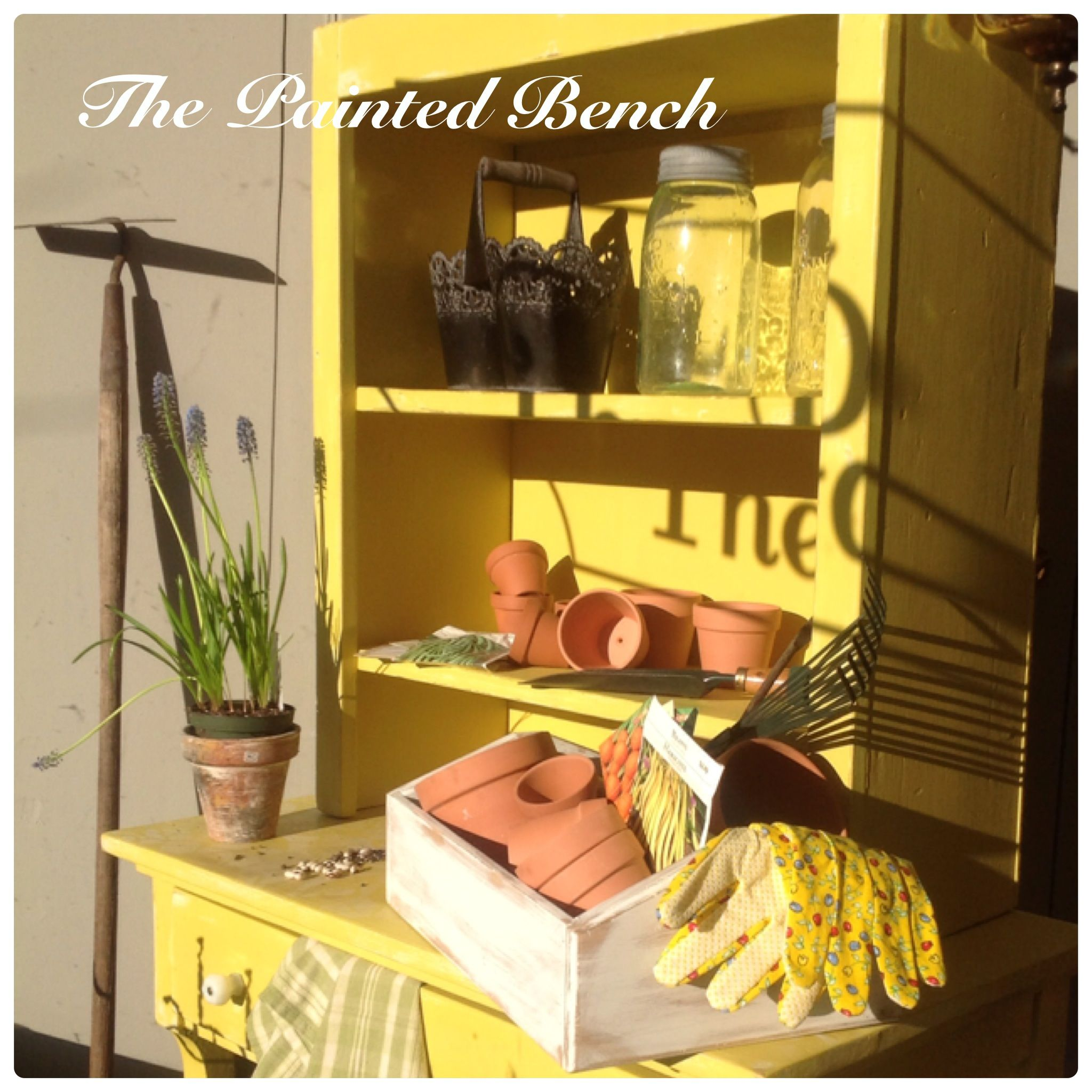 Spring In A Can! English Yellow Chalk Paint™ Decorative