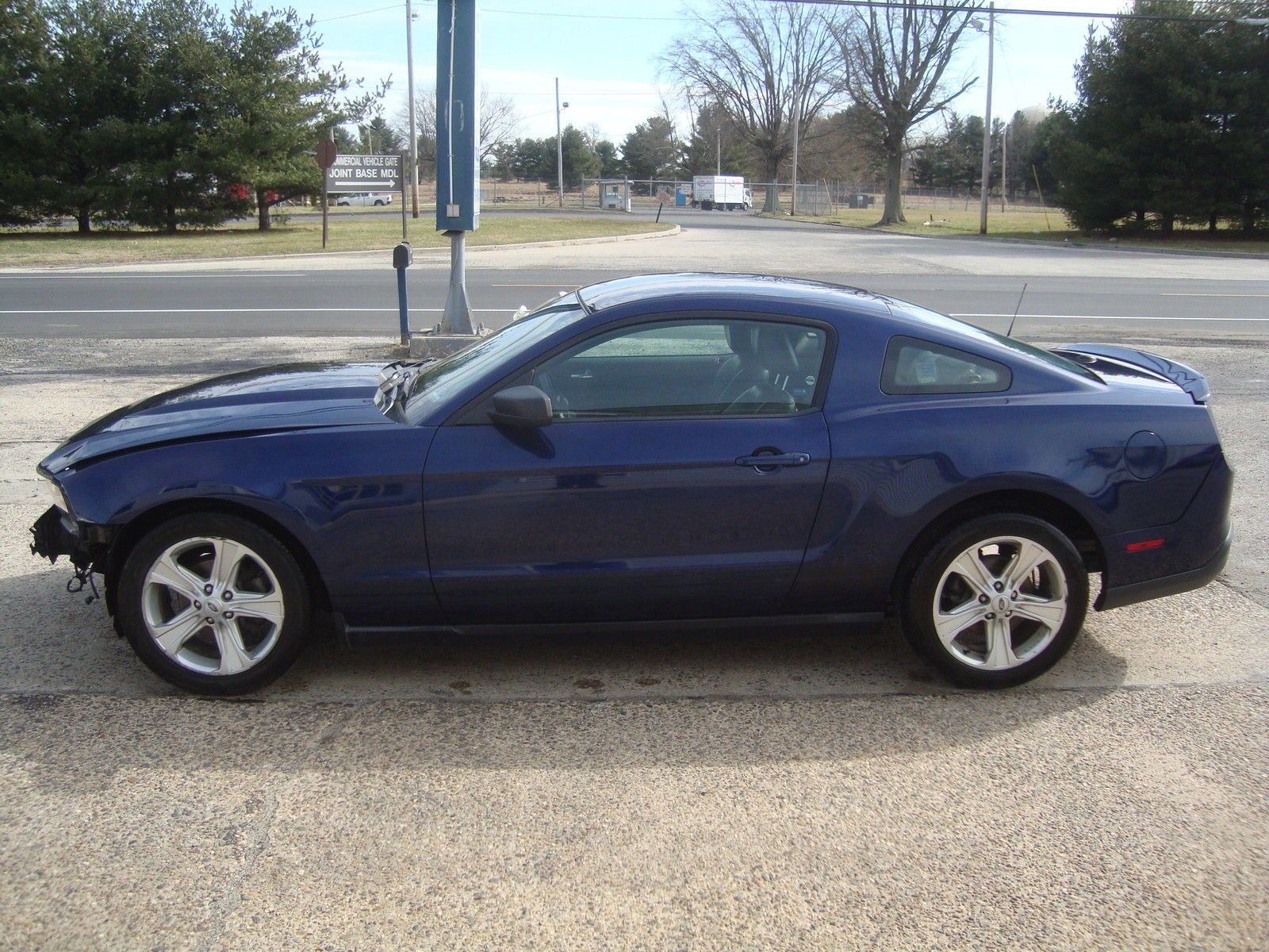 2010 Ford Mustang V6 Automatic Salvage Rebuildable | Wrecked sport ...