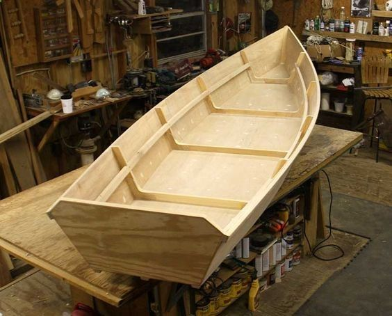 Bayou Skiff - wooden boat plans | boats in 2019 | Wooden boat plans, Wooden boat kits, Diy boat